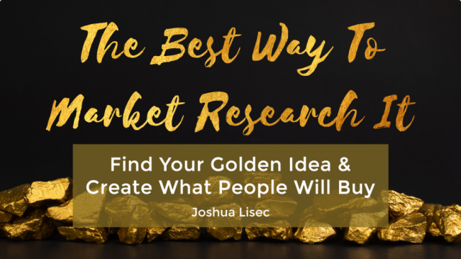 Joshua Lisec Da dopest way ta market research it free download