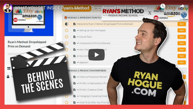 Ryan Hogue Ryans method dropshipped free download