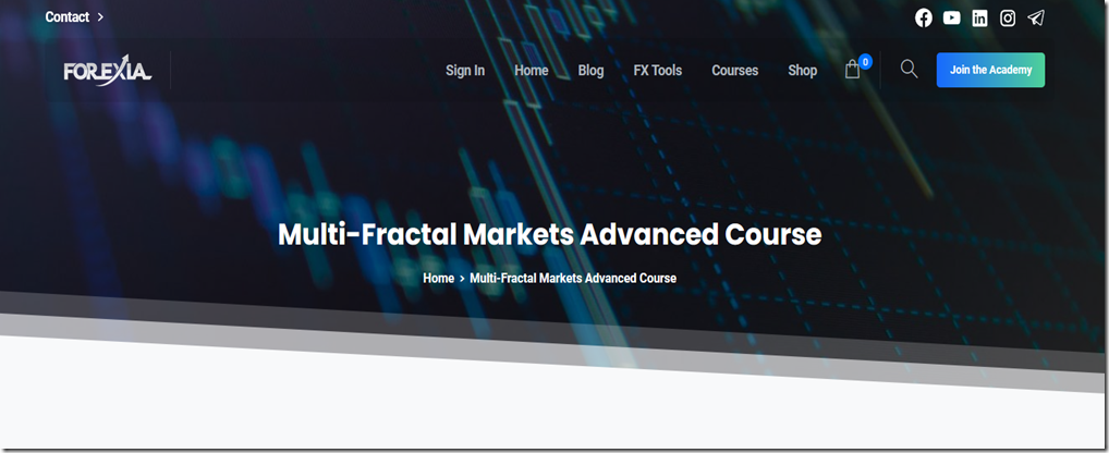 Forexiapro multi fractal markets advanced course free download