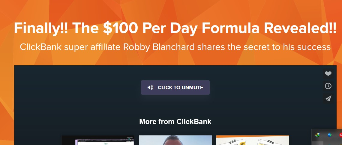 Robby blanchard clickbank spark free download